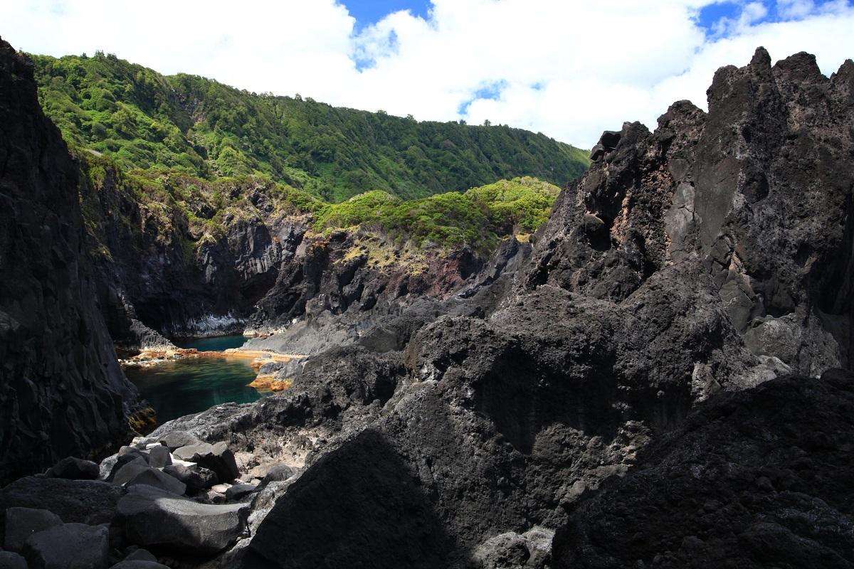 Lagune in Faja do Ouvidor