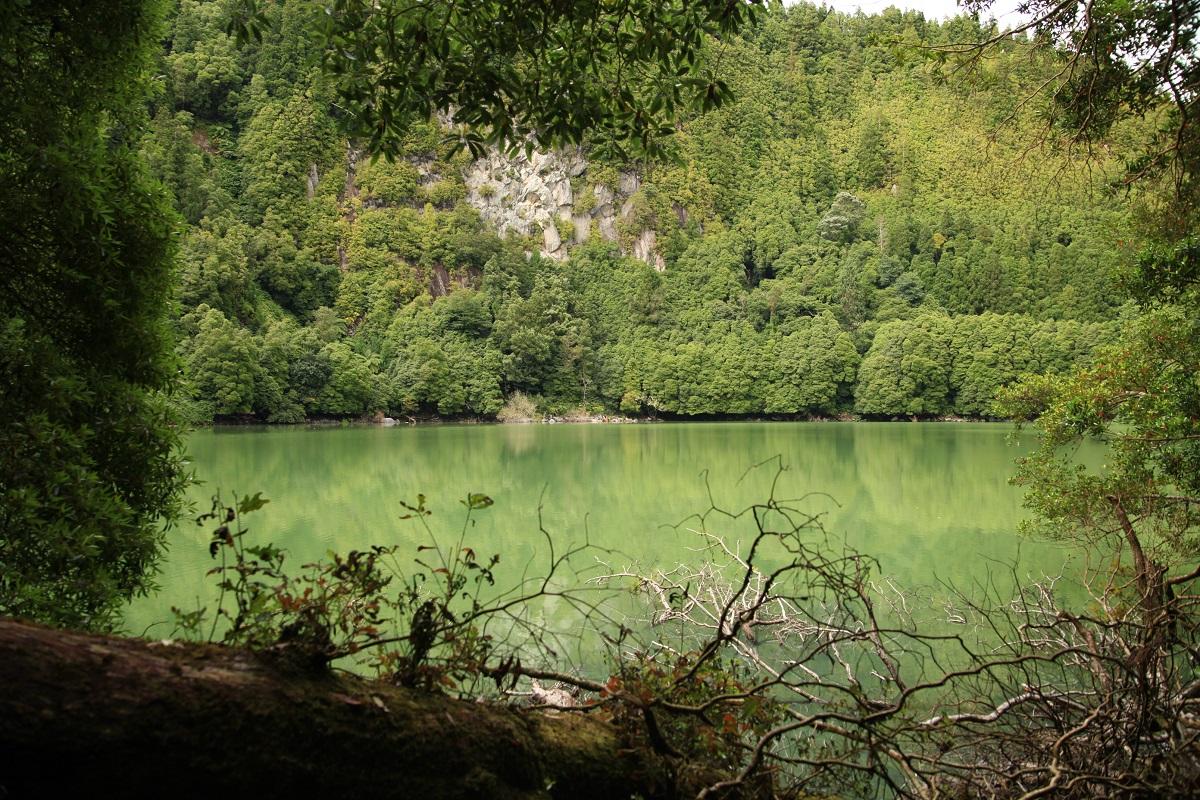 Blick hinaus auf den Lagoa Congro