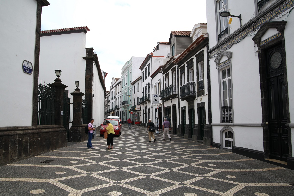 Gasse in Ponta Delgada