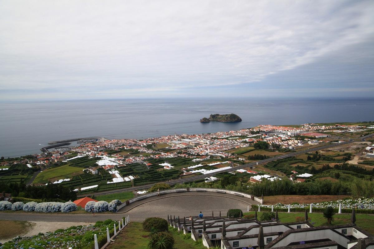 Ausblick auf Vila Franca