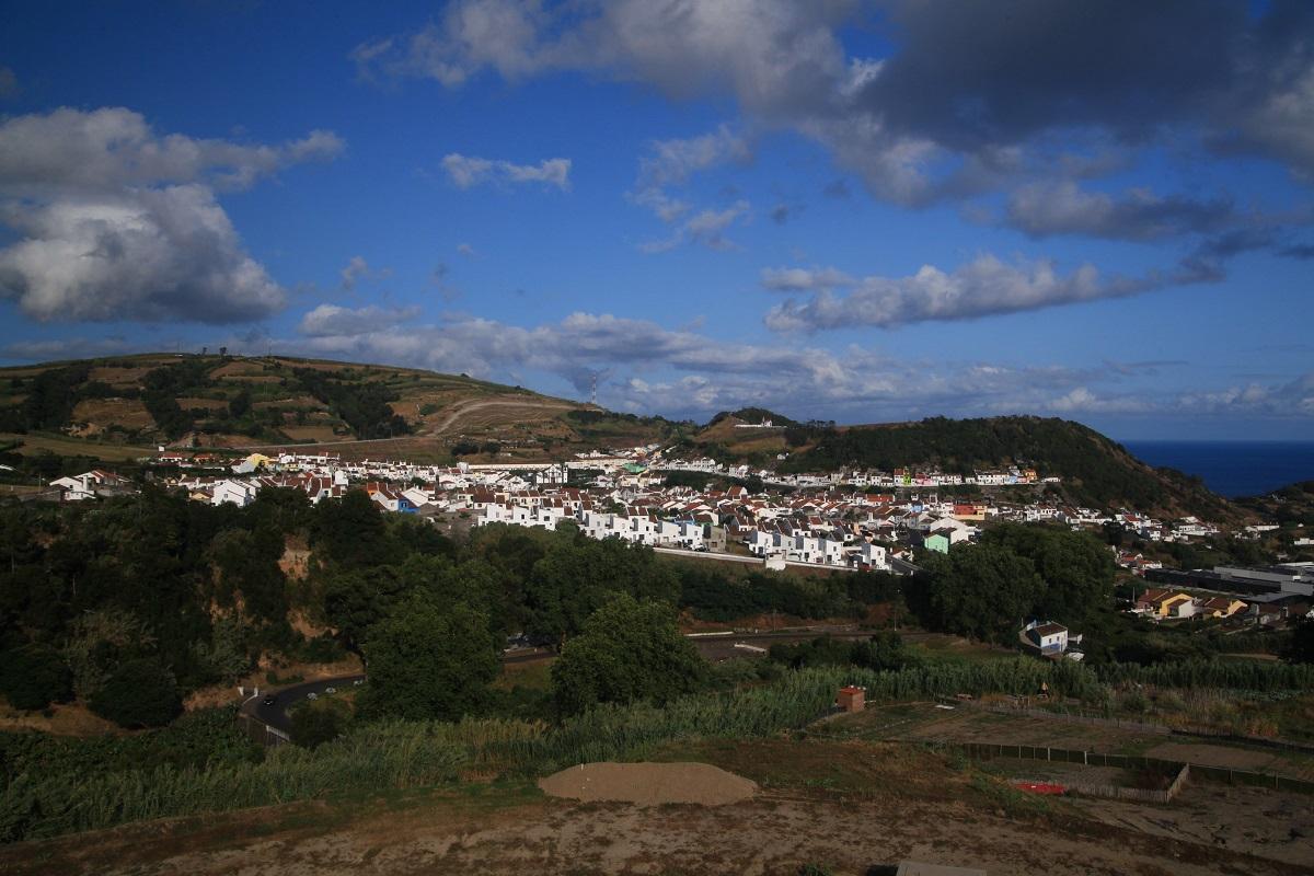 Blick über Agua de Pau