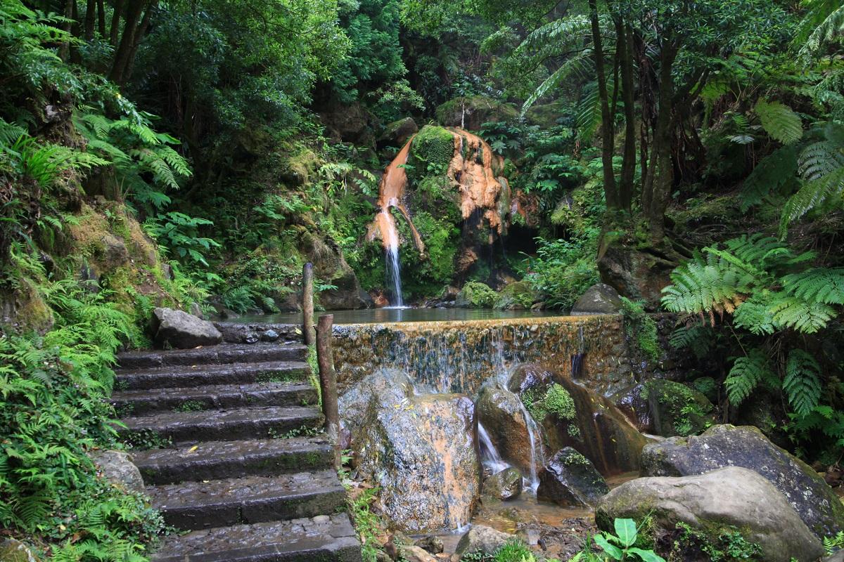 Wasserfall Caldeira Velha