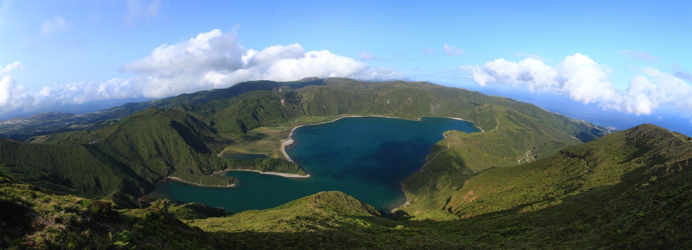 Blick auf den Lagoa Fogo