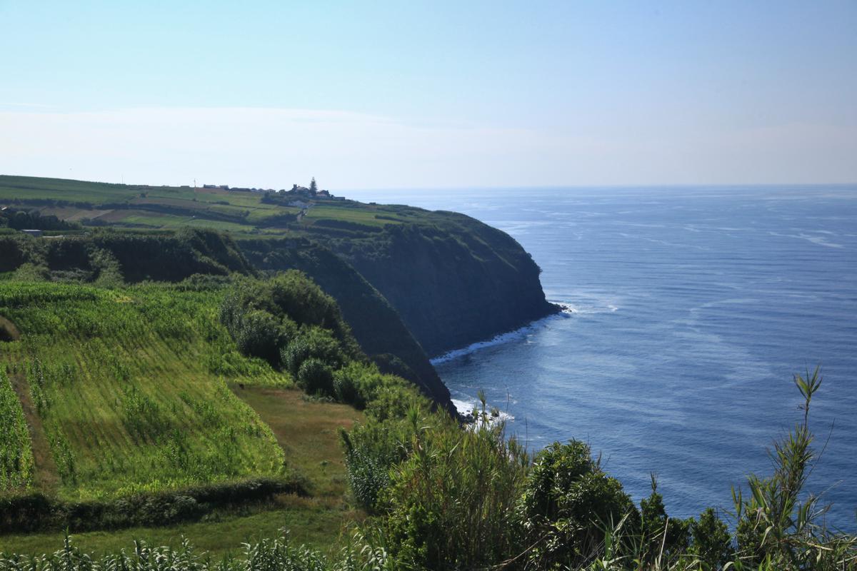 Ausblick an der Küste