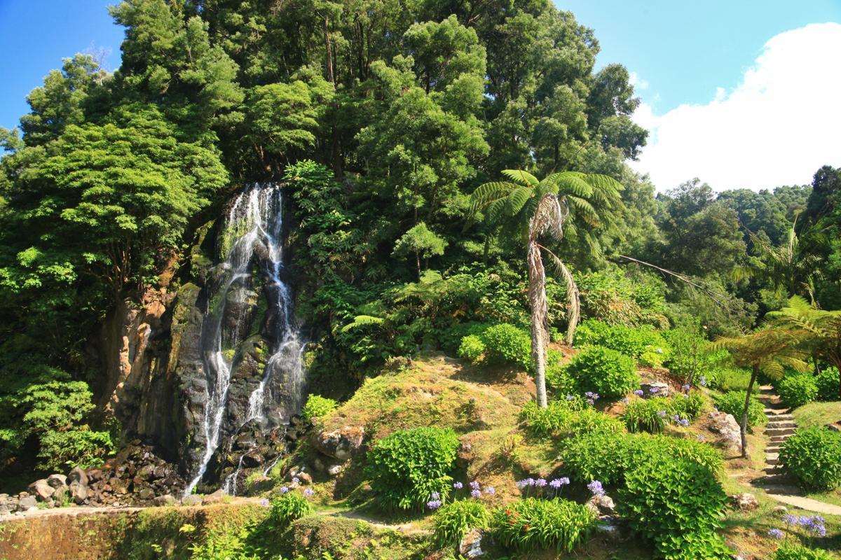Wasserfall Ribeira dos Caldeiras